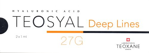 Teosyal Deep Lines 2 x 1,0 ml