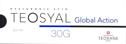 Teosyal Global Action 30G, 2 x 1,0 ml