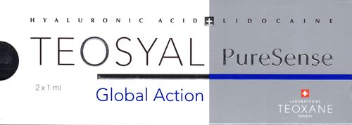 Teosyal  PureSense Global Action 2 x 1,0 ml