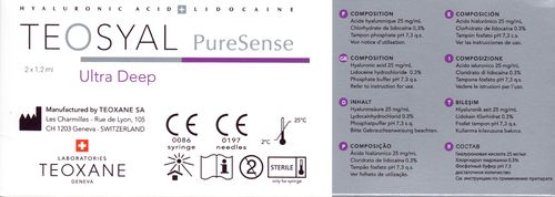 Teosyal PureSense Ultra Deep 2 x 1,0 ml